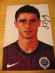 Kamil Vacek - Sparta Praha - orig. autogram