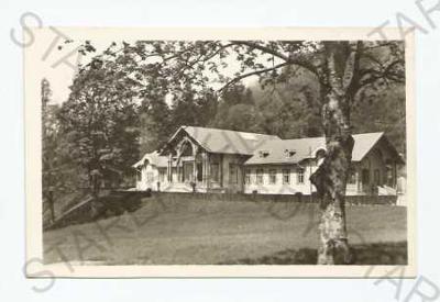 Lázně Kynžvart Cheb lázeňský dům ORBIS