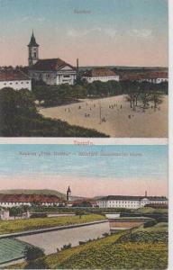 """Terezín, náměstí, kasárna ,,Prokopa Holého\"""""""