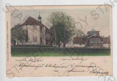 Domažlice, Veselá hora, kostel sv. Vavřince, kolor