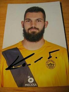 Tomáš Koubek - Liberec - orig. autogram