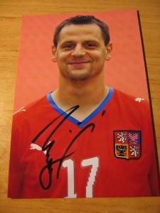 Marek Matějovský - ČR - orig. autogram