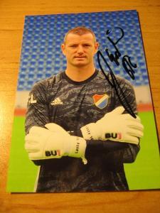 Jan Laštůvka - Baník Ostrava - orig. autogram