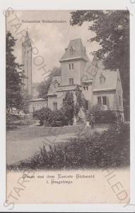 Dubí (Eichwald) - lázně, restaurace Waldschlössche