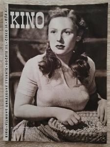 KINO - FILMOVÝ OBRÁZKOVÝ TÝDENÍK - ročník 3 číslo 13 rok 1948