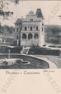 Luhačovice, Villa Vlasta, DA
