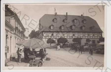 Varnsdorf - trh, auto