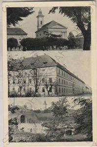 Terezín, kostel, kasárna, pevnost