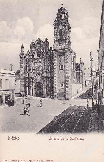 MEXICO - MEXICO CITY - KOSTEL SV. TROJICE -12-EX54