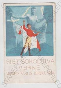 Brno, Sokol, Slet, vlajka