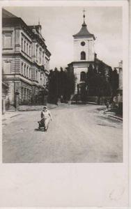 Vysoké Veselí (Hochwesseln), kostel