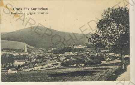 Koryčany - Gruss aus Koritschan, Koritschan gegen