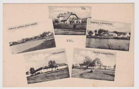 Val - vila, hostinec, kovárna, celkový pohled - ry