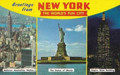 NEW YORK - OKÉNKOVÁ POHLEDNICE - 17-OY47