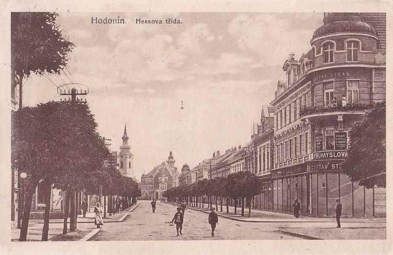 HODONÍN - HESSOVA TŘÍDA - 20-OY46 - Pohlednice
