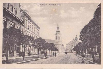 HODONÍN - HESSOVA TŘÍDA - 21-OY9