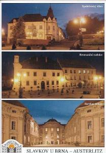 SLAVKOV U BRNA - OKÉNKOVÁ POHLEDNICE -21-OY74