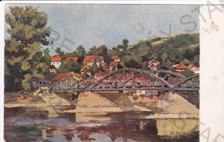 Budotín, část města Žilina, částečný záběr města,