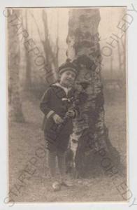 Děti - foto, dítě, strom, bříza