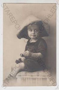Děti - foto, dítě, klobouk