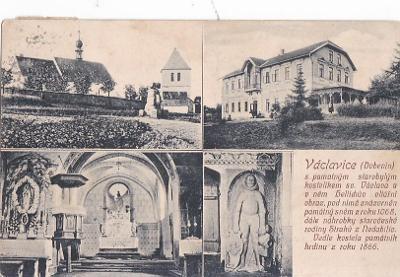 VÁCLAVICE - KOSTEL - HOTEL - 17-AD39