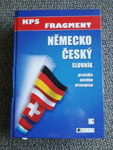 Německo Český Slovník + Česko Německý Slovník KPS Fragment