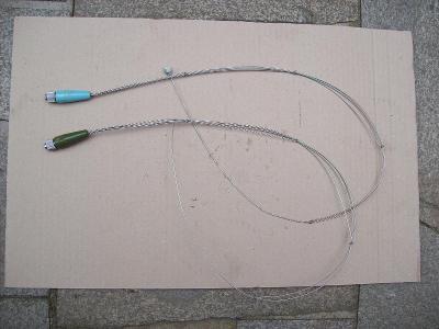 Anténa na starou vysílačku (2 kusy)
