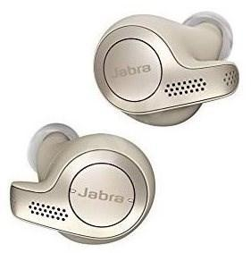 Bezdrátová sluchátka Jabra Elite 65t béžově zlatá