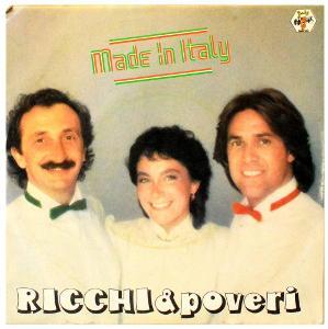 Gramofonová deska RICCHI E POVERI - Made in Italy
