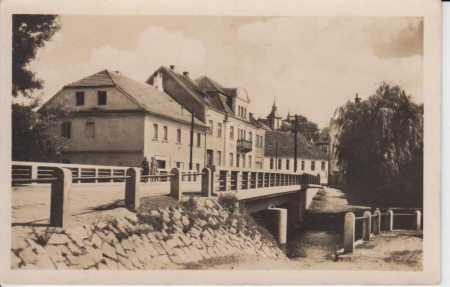 Merklín, železný most