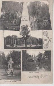Lázně Bělohrad, most, tenisový kurt, meteorologick