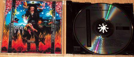 Prodám CD - Steve Vai - Passion and Warfare