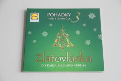 CD pohádky pod stromeček Zlatovláska nové VÍCE V POPISU