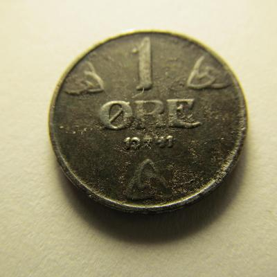 Norsko - 1 Ore 1941