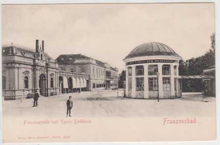 Františkovy Lázně (Franzensbad), Františkův pramen