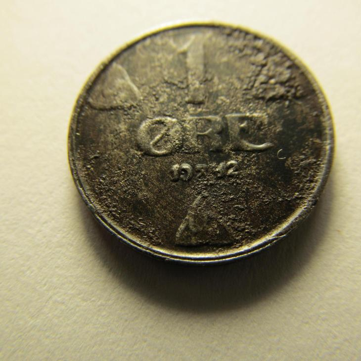 Norsko - 1 Ore 1942 - Numismatika