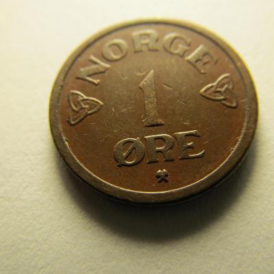 Norsko - 1 Ore 1955