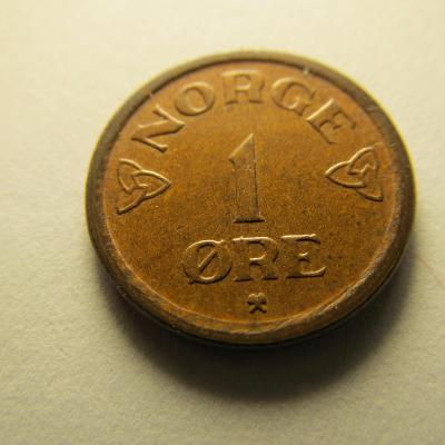 Norsko - 1 Ore 1957