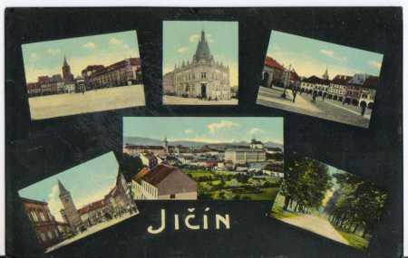 Jičín, partie lipového stromořadí, náměstí , , bar