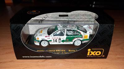 IXO ŠKODA OCTAVIA WRC RALLYE MONTE-CARLO 2003 AURIOL GIRAUDET 1/43
