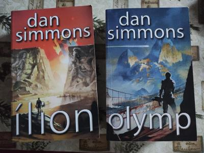 Dan Simmons olymp, ilion