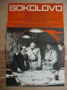 Sokolovo (filmový plakát, film ČSSR 1974, režie Otakar