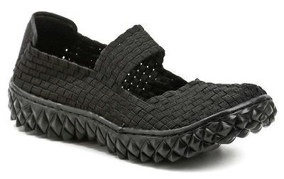 Rock Spring OVER černá dámská gumičková obuv