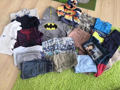 Balíček chlapecké oblečení 110-122