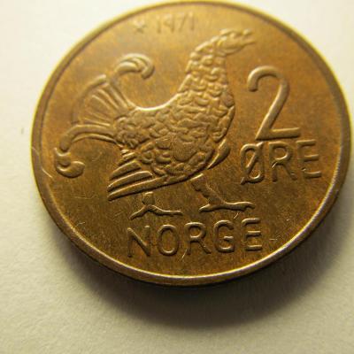 Norsko - 2 Ore 1971