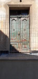 Starožitné vchodové dveře
