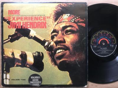 JIMI HENDRIX more experience UK 1PRESS 1972 VG+