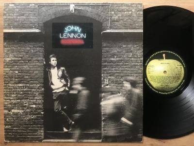 JOHN LENNON Rock n roll UK 1PRESS 1975 VG+