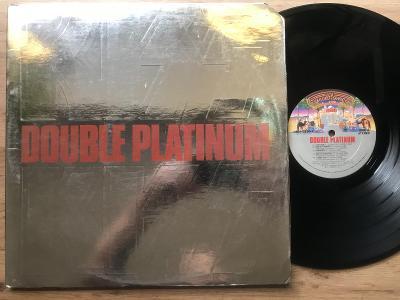 KISS Double platinum 2LP USA VG 1978