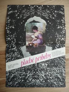 Plaché příběhy (filmový plakát, film ČSSR 1982, rež